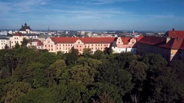 Panorama starého města Olomouc, Česká republika