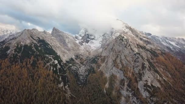 Flug um Watzmann und Hochkalter Berge, Berchtesgaden, Deutschland