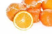 Fotografie Fresh ripe oranges