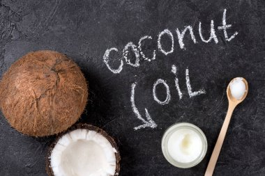 Coconut oil and nut