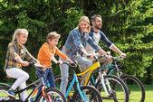 Fotografie rodinné cykloturistiky