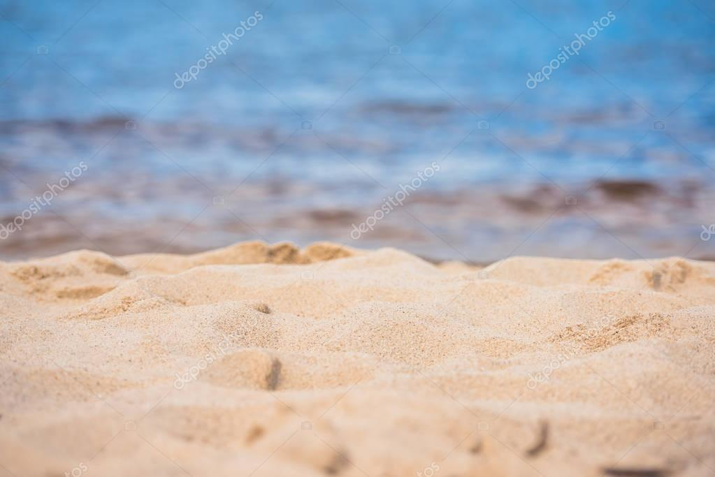 tranquil sandy beach