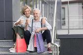 Fotografie Manželka a manžel pití kávy