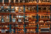 Photo warehouse interior