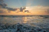 Fotografie sunset over sea