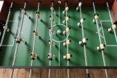 Datailní pohled stolní fotbal