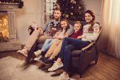 Fotografie Rodina na Štědrý den