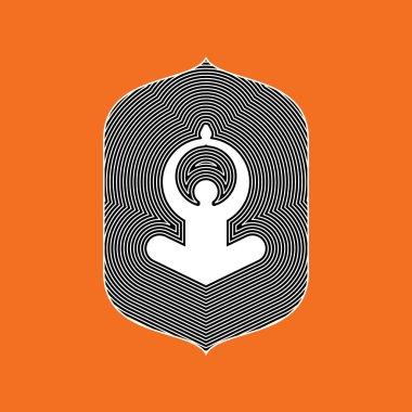 Illustration of yoga/spa