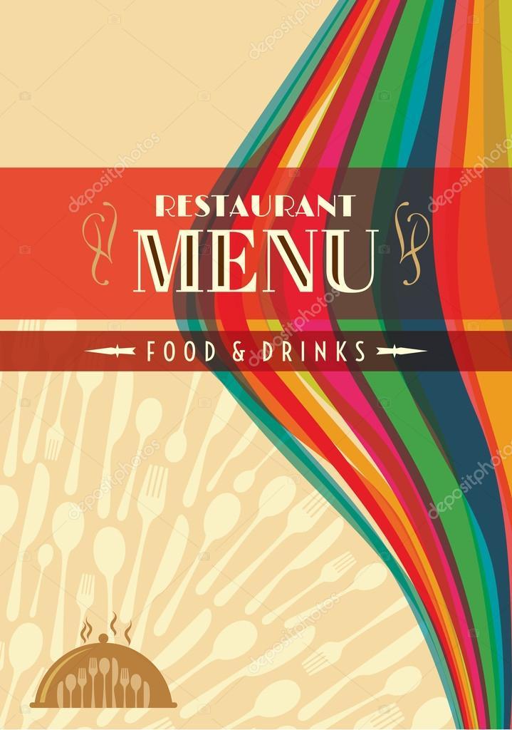 restaurant menu card design samples