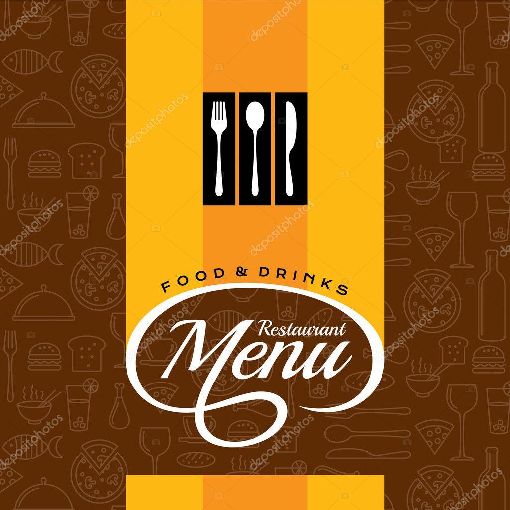 Restaurant Menu Card Design Stock Vector C Arrtfoto 126076392