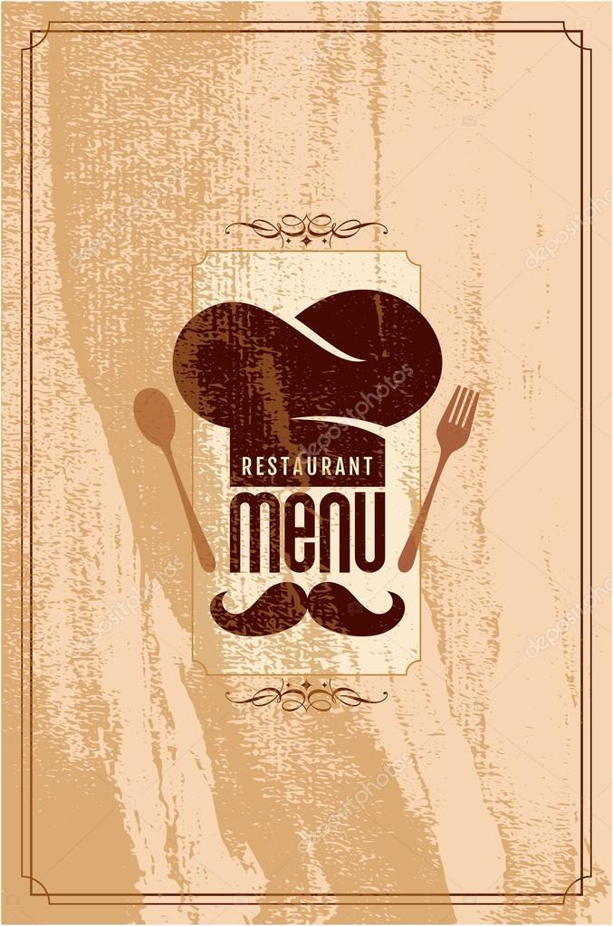 Restaurant Menu Card Design Stock Vector 169 Arrtfoto