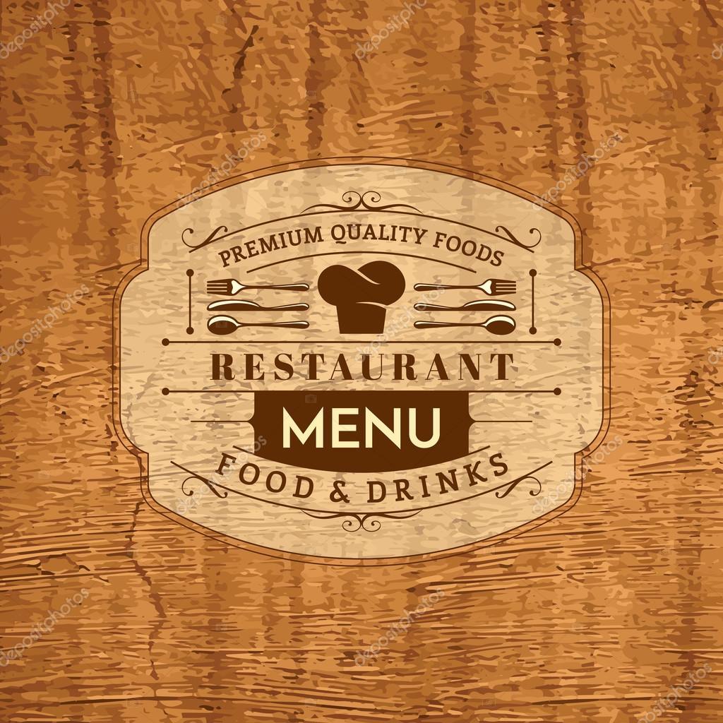 Restaurant Menu Card Design Stock Vector Arrtfoto