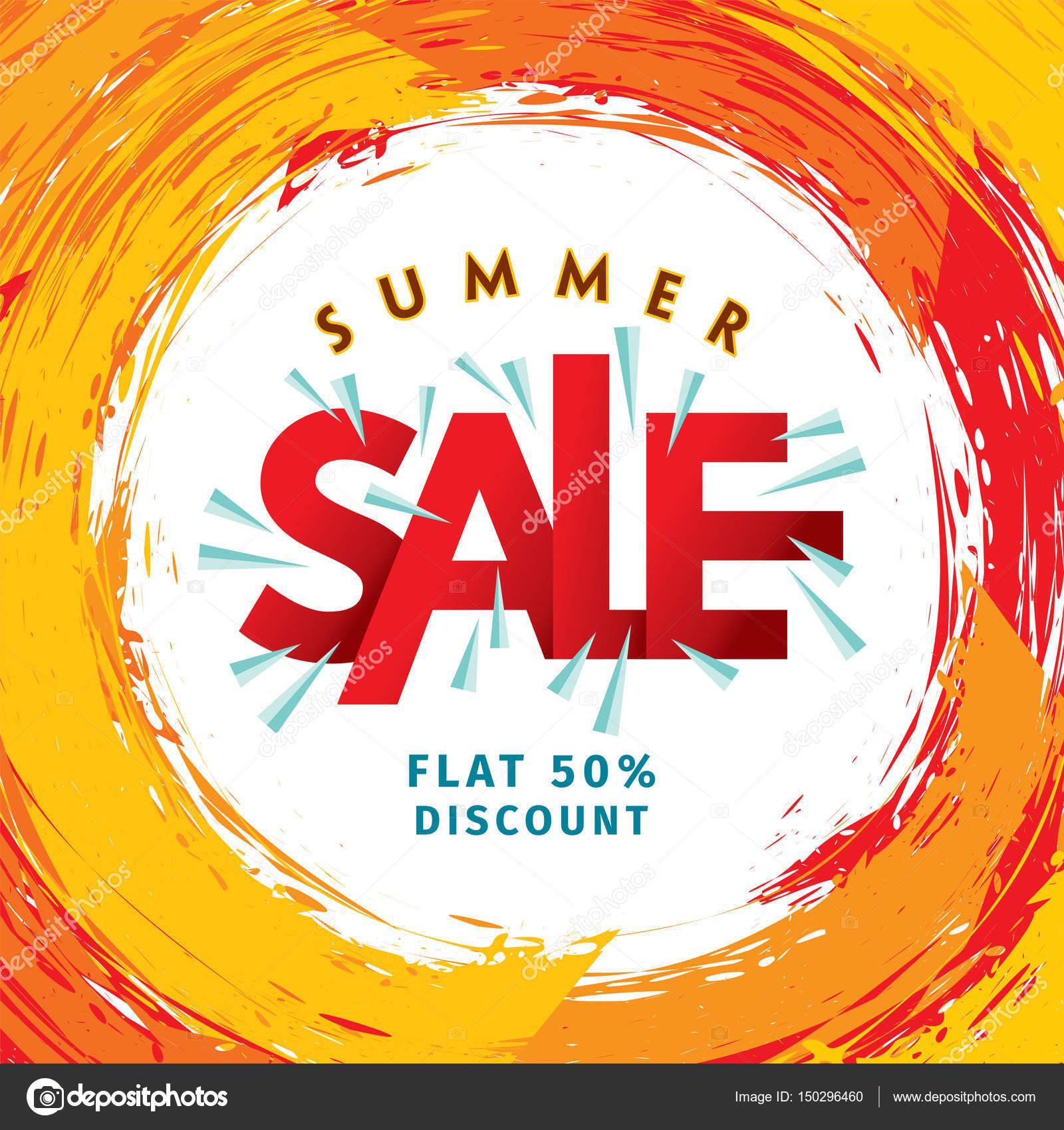 Sommer Sale banner — Stockvektor © arrtfoto #150296460