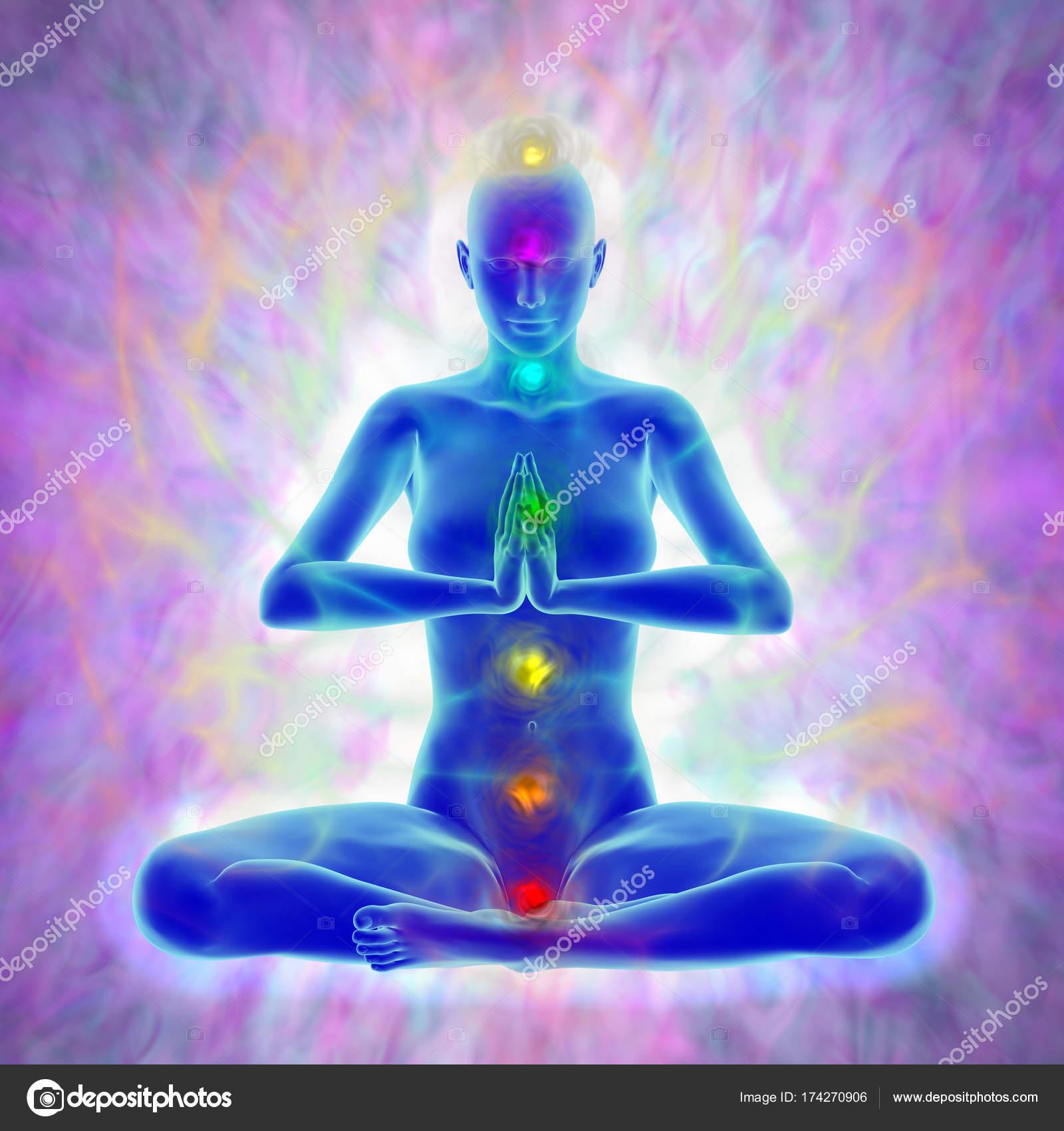 Meditation - aura and chakras ...
