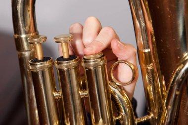 euphonium or baritone valves