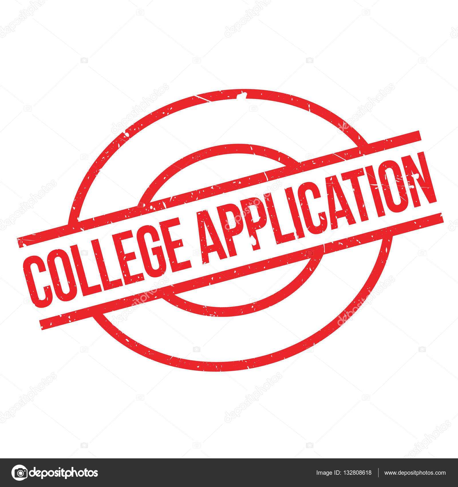 College-Anwendung-Stempel — Stockvektor © lkeskinen0 #132808618