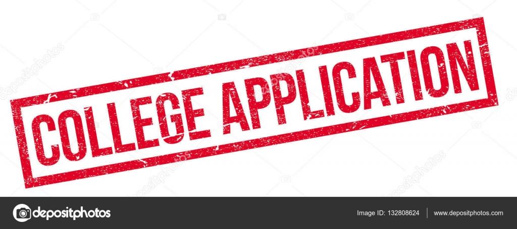 College-Anwendung-Stempel — Stockvektor © lkeskinen0 #132808624