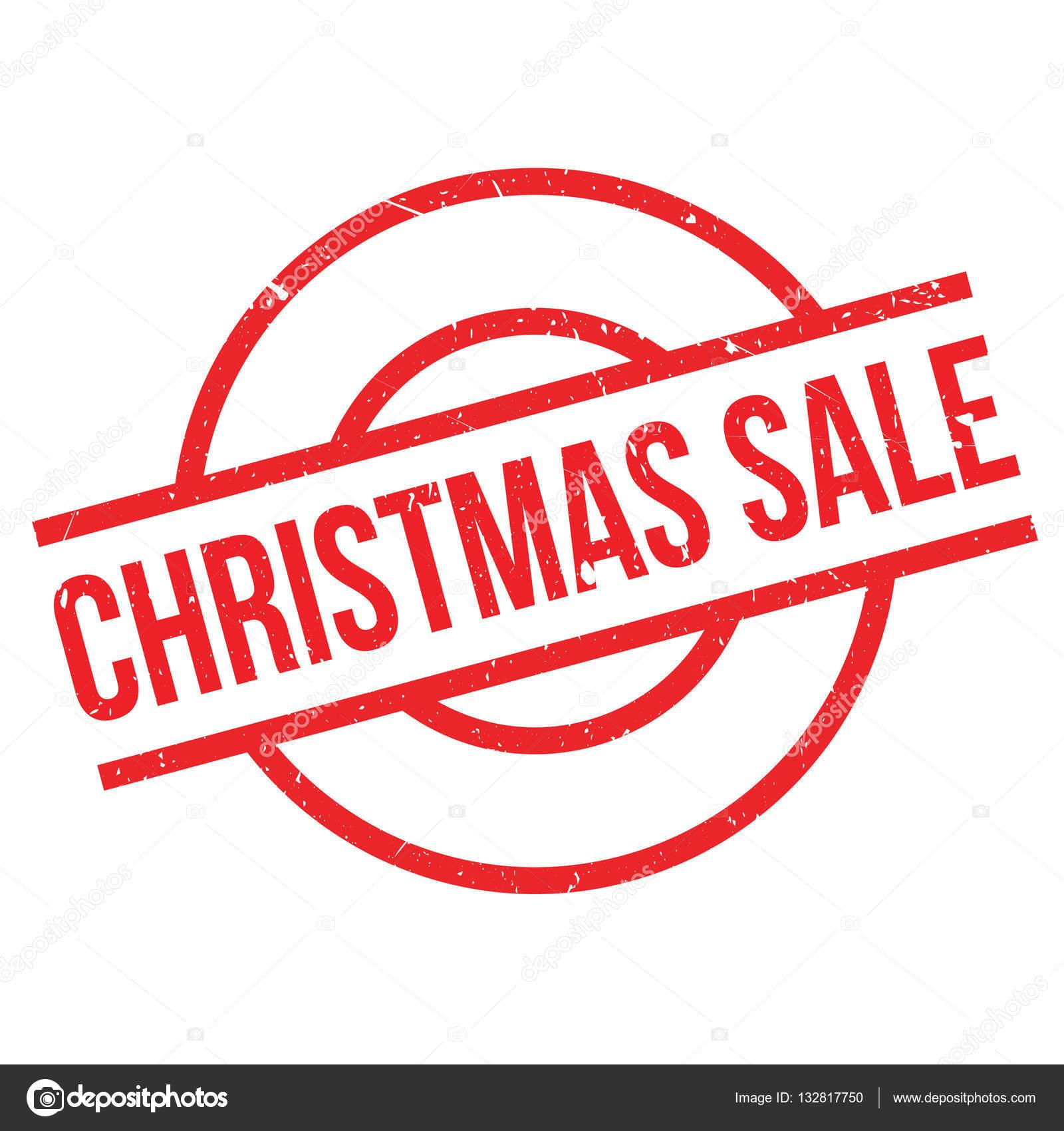 Weihnachts-Sale-Stempel — Stockvektor © lkeskinen0 #132817750