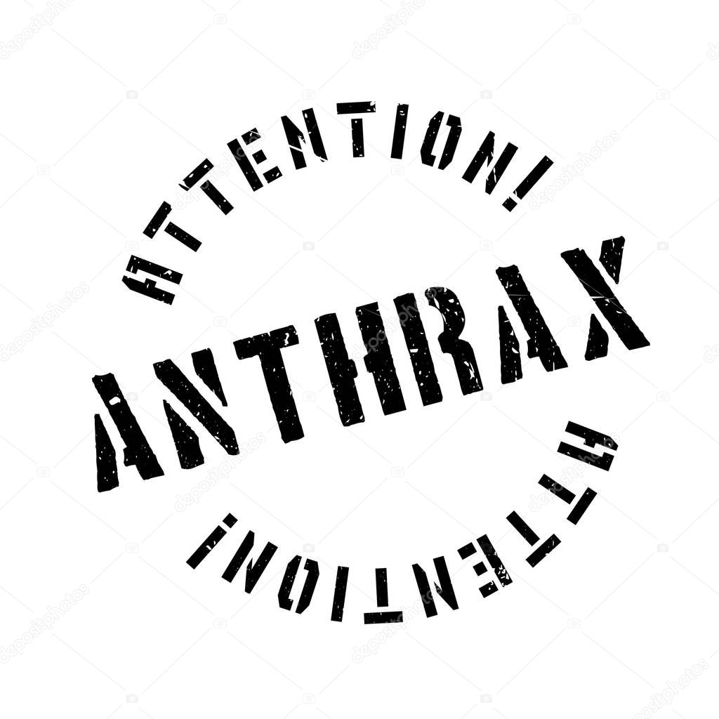 Anthrax rubber stamp