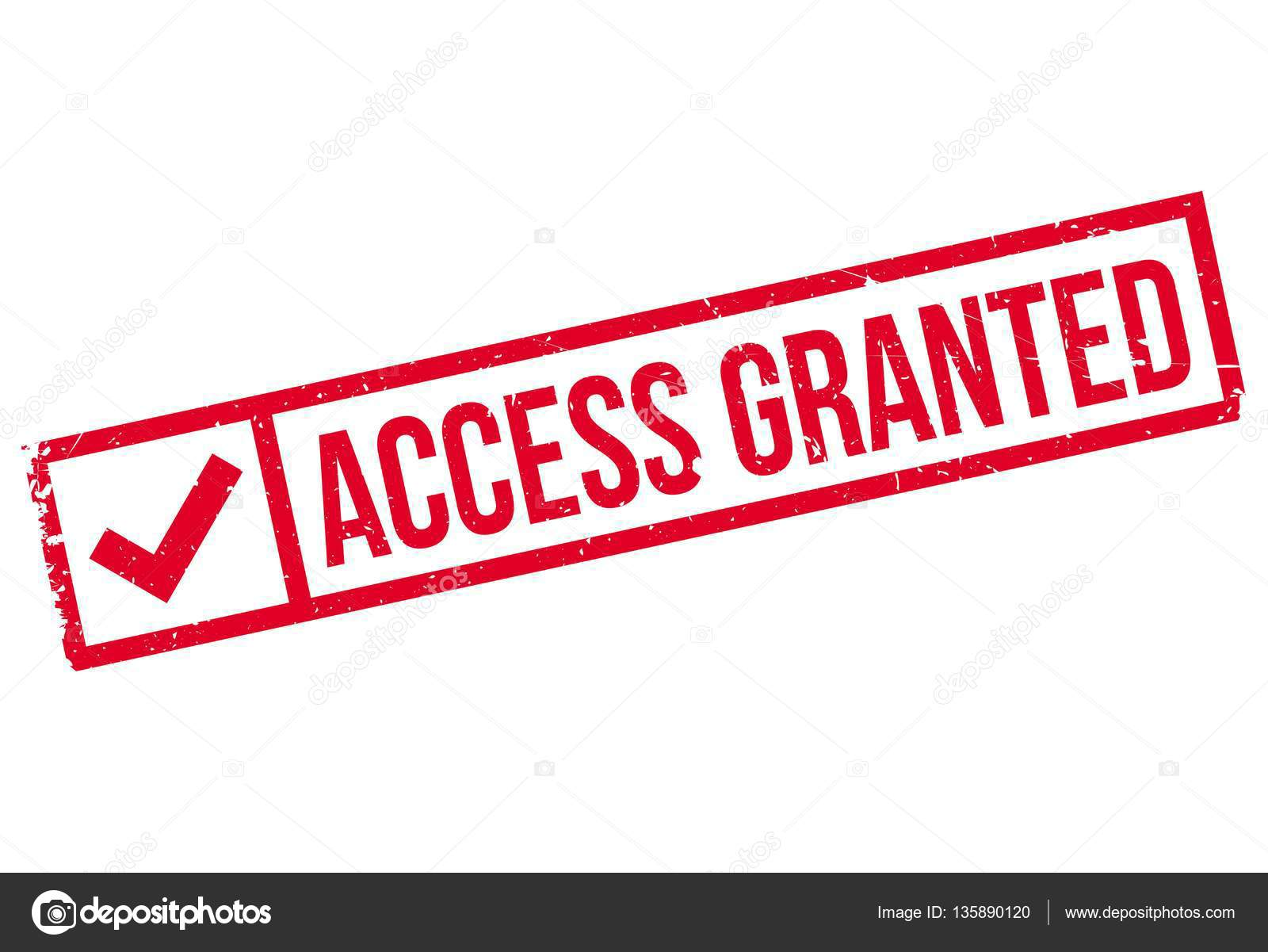 Access Granted rubber stamp — Stock Vector © lkeskinen0 ...