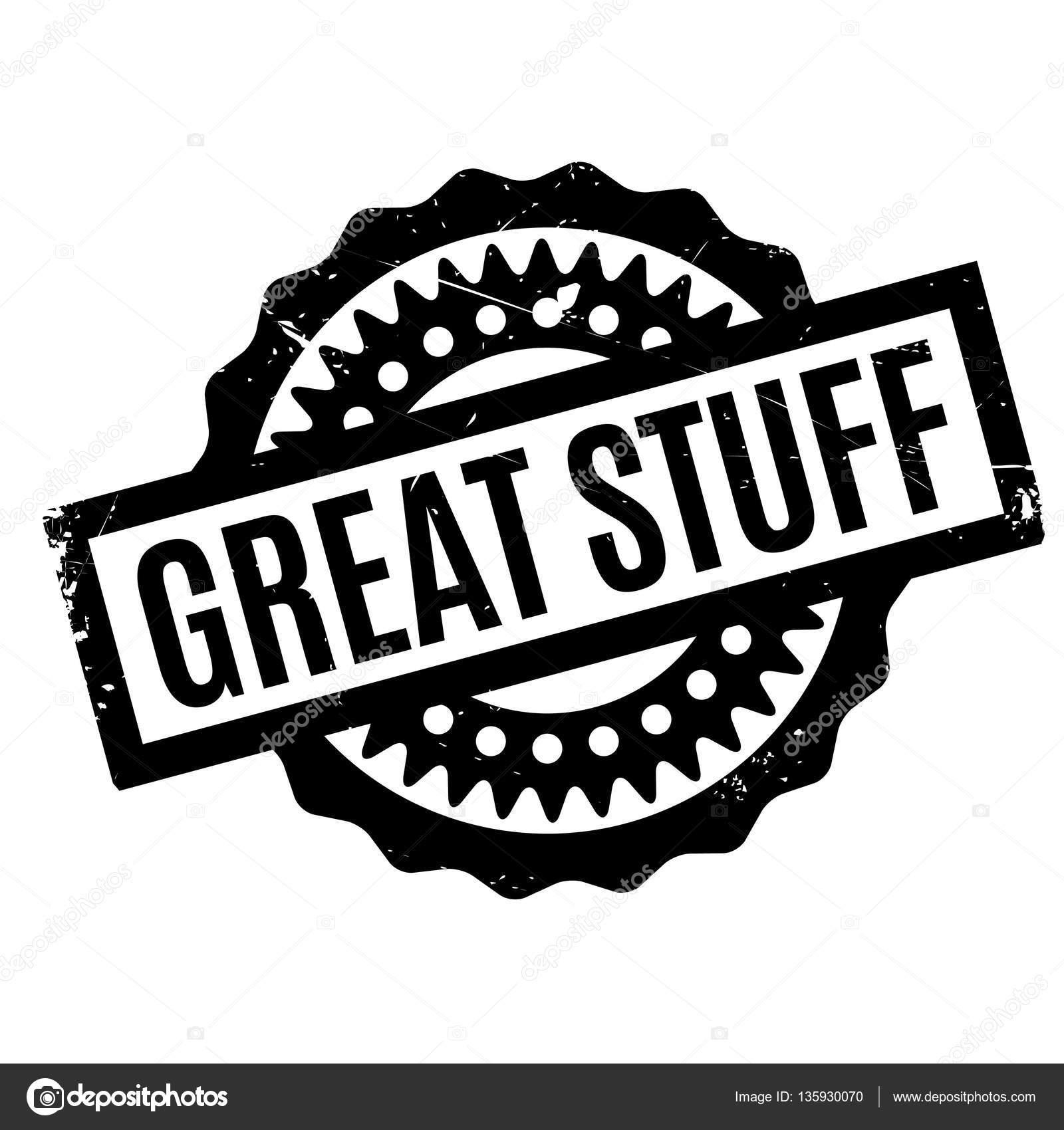 Great Stuff rubber stamp — Stock Vector © lkeskinen0 #135930070