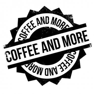 Coffee And More rubber stamp