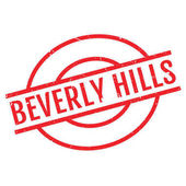 Fotografie Beverly Hills rubber stamp