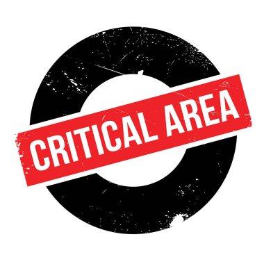 Critical Area rubber stamp