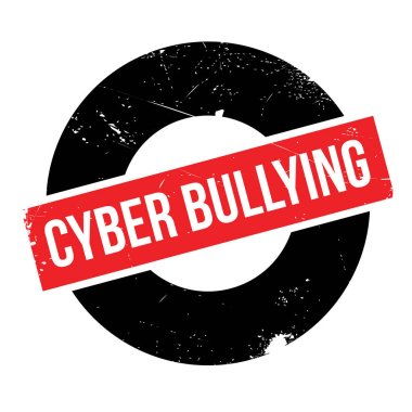 Cyber Bullying rubber stamp