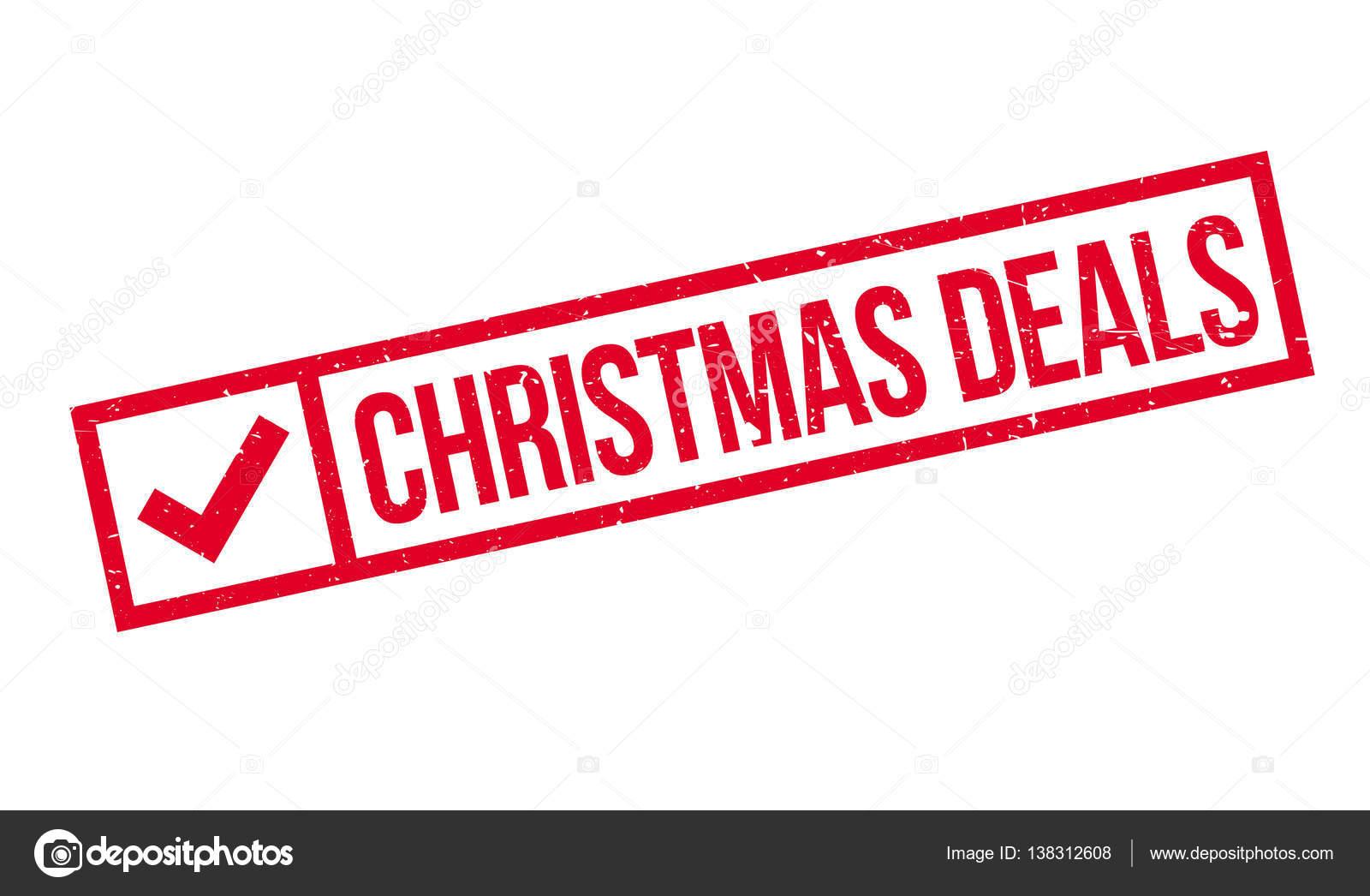Weihnachts-Angebote-Stempel — Stockvektor © lkeskinen0 #138312608
