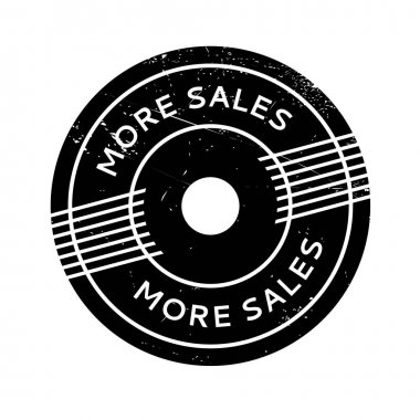 More Sales rubber stamp