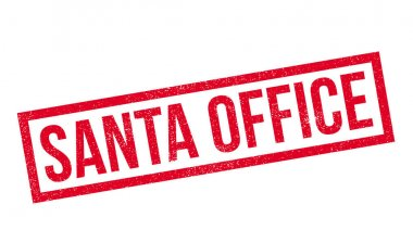 Santa Office rubber stamp