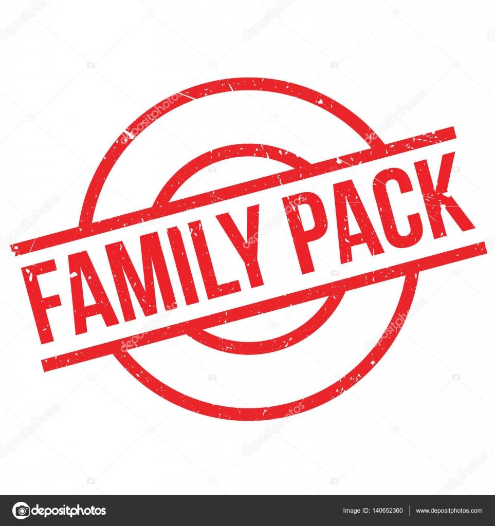 family pack rubber stamp stock vector lkeskinen0 140652360
