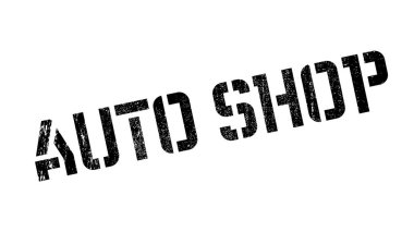 Auto Shop rubber stamp