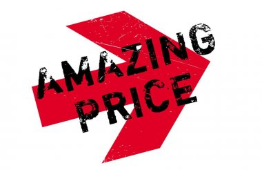 Amazing Price rubber stamp