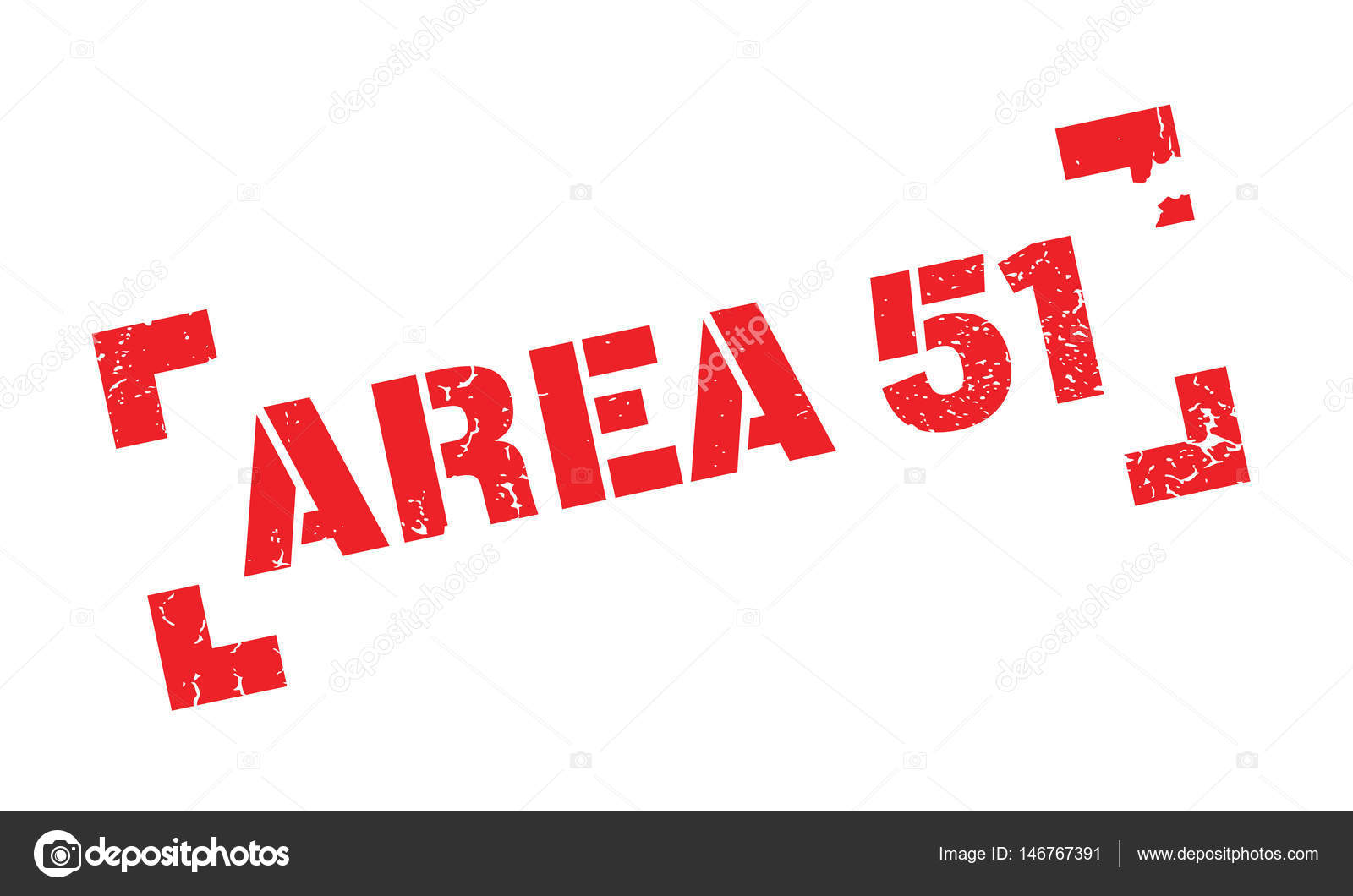 Area 51 rubber stamp — Stock Vector © lkeskinen0 #146767391
