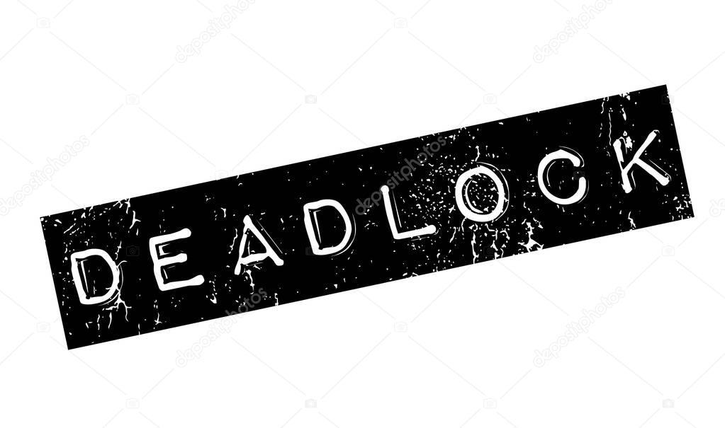 Deadlock rubber stamp