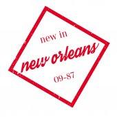Fotografie Nové v New Orleans razítko