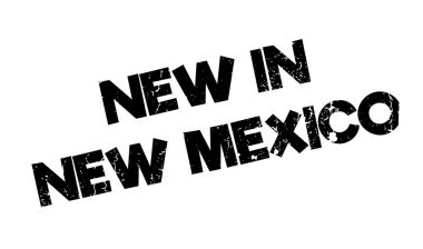 New In New Mexico rubber stamp