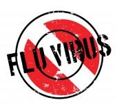 Chřipka Virus razítko