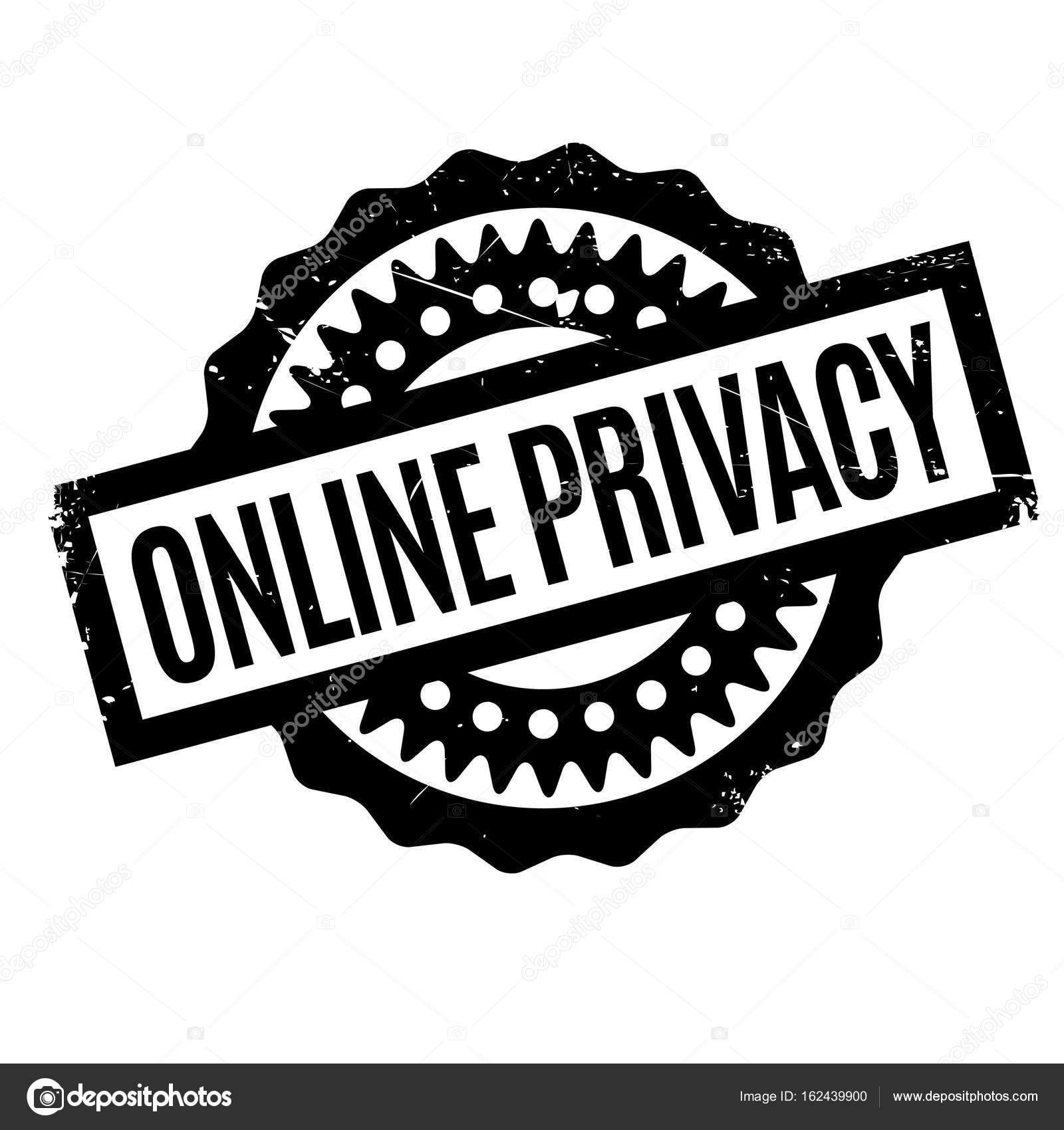 online privacy rubber stamp stock vector lkeskinen0 162439900