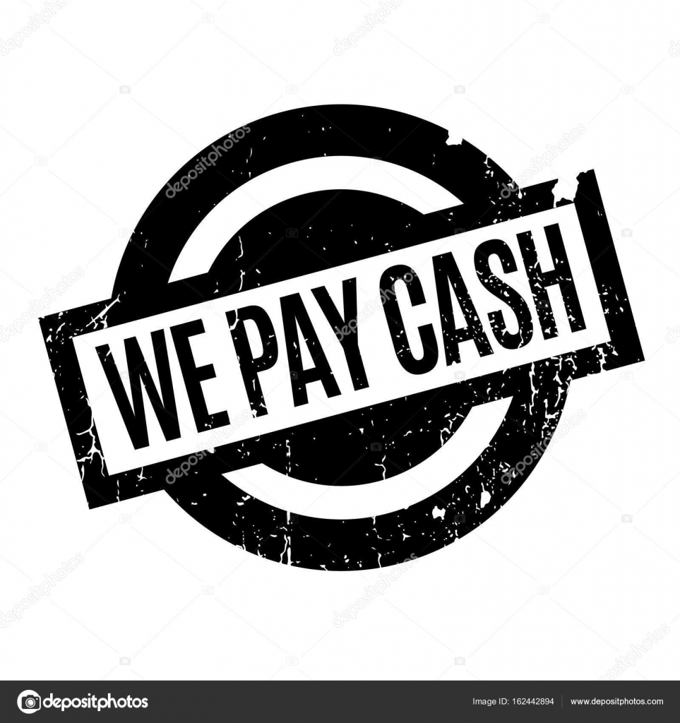 We Pay Cash rubber stamp — Stock Vector © lkeskinen0 #162442894
