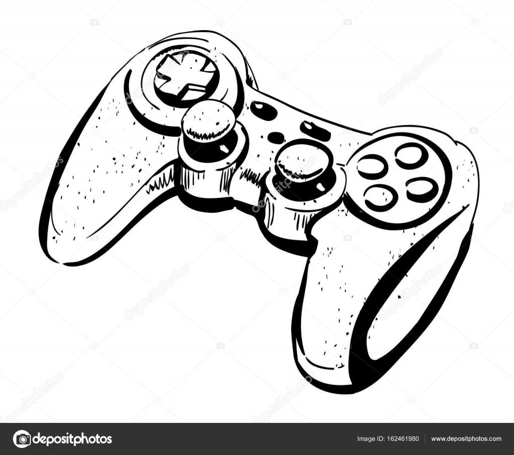 Image de dessin anim de manette de jeu image - Dessin de jeux video ...