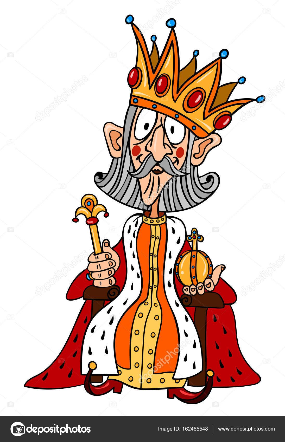 Image de dessin anim du roi avec grand couronne image vectorielle lkeskinen0 162465548 - Image de dessin anime ...