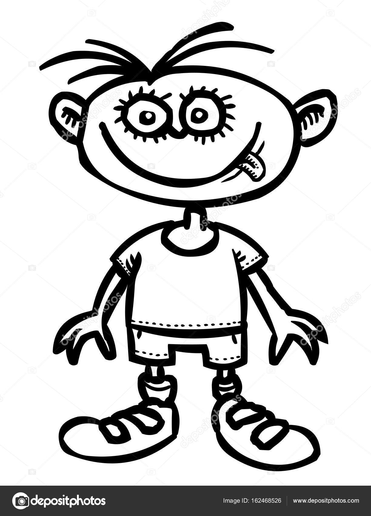 Cartoon Image Of Child Icon Children Symbol