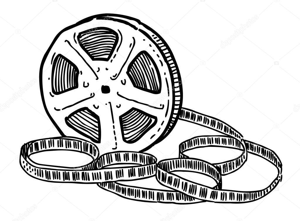 Filmrolle Comic