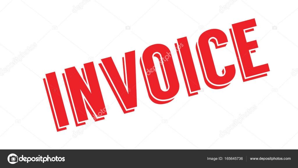 Invoice Rubber Stamp Stock Vector Lkeskinen - Invoice stamp