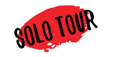 Solo Tour rubber stamp
