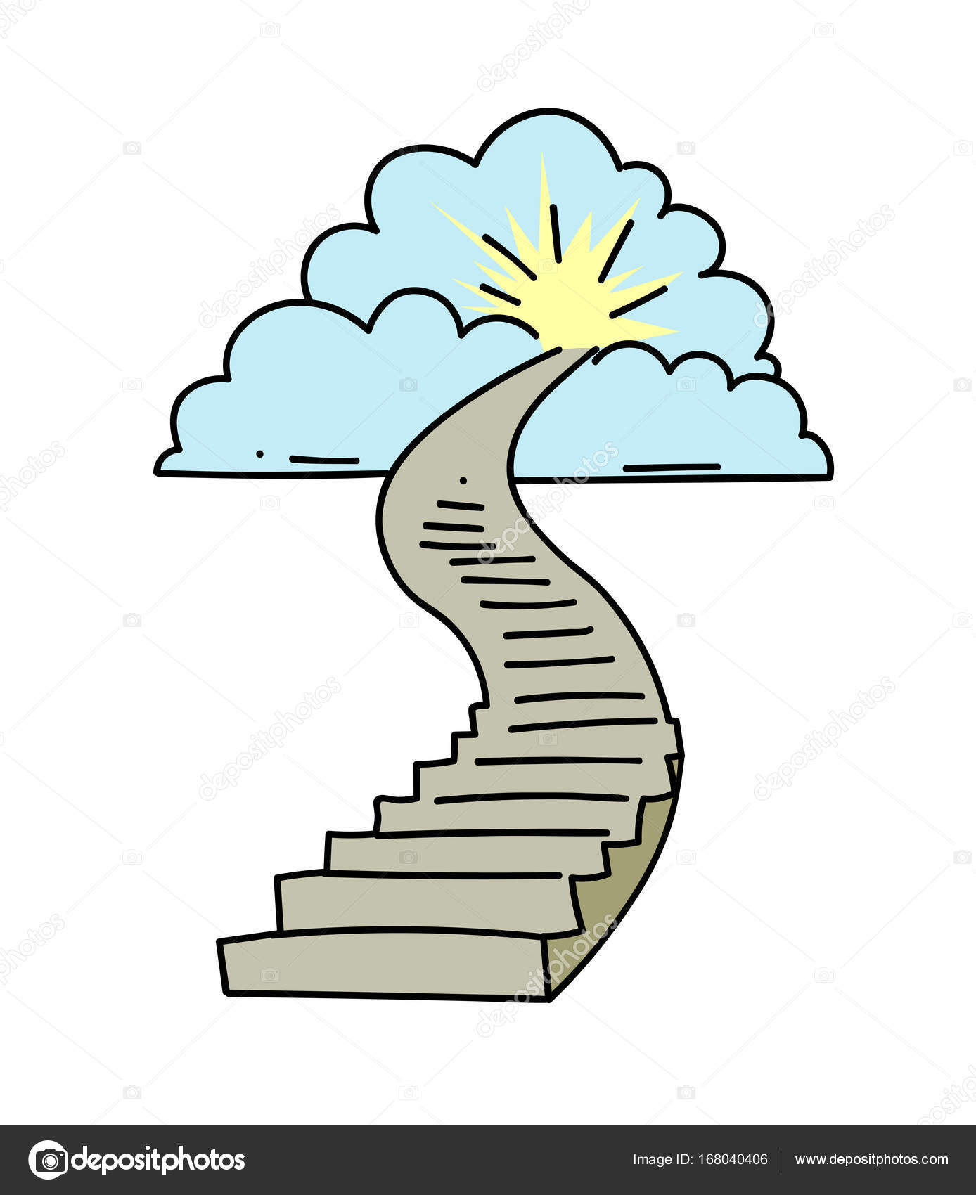 stairway #heaven - Stairway To Heaven , Free Transparent Clipart -  ClipartKey