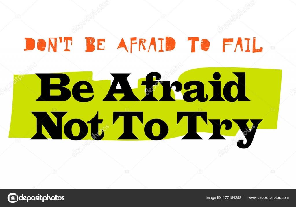 angst zu versagen